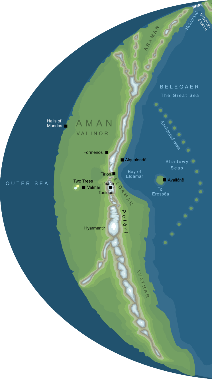 Map of Aman
