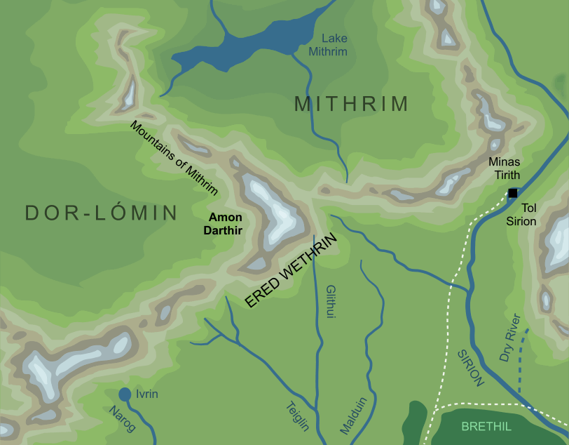 Map of Amon Darthir