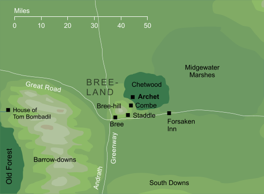 Map of Archet
