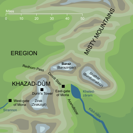 Map of Baraz
