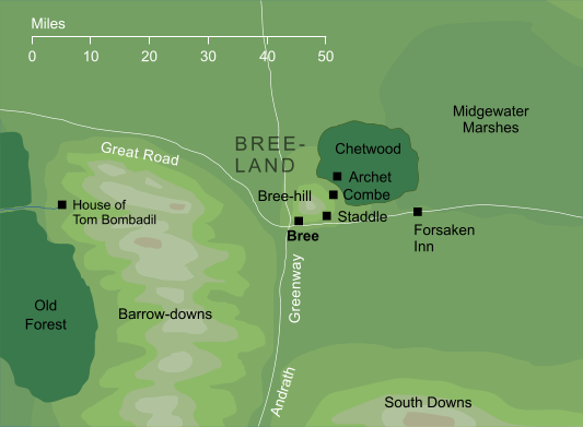 Map of Bree