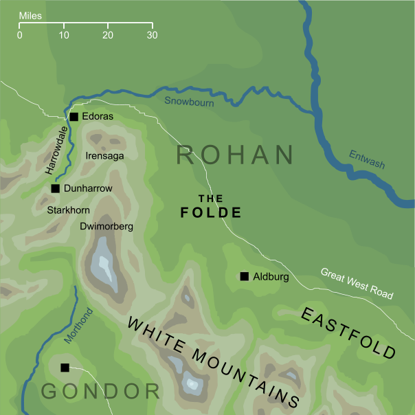 Map of the Folde