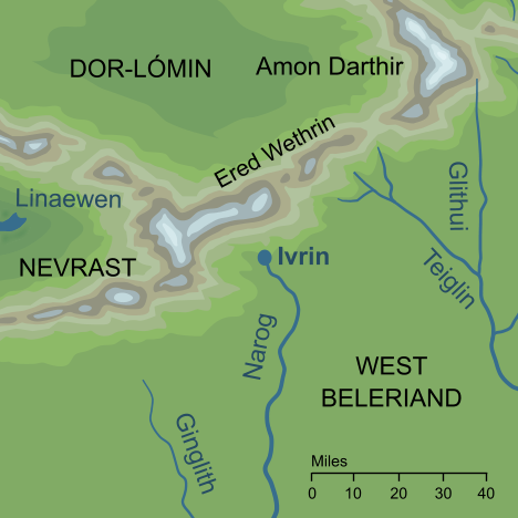 Map of Ivrin