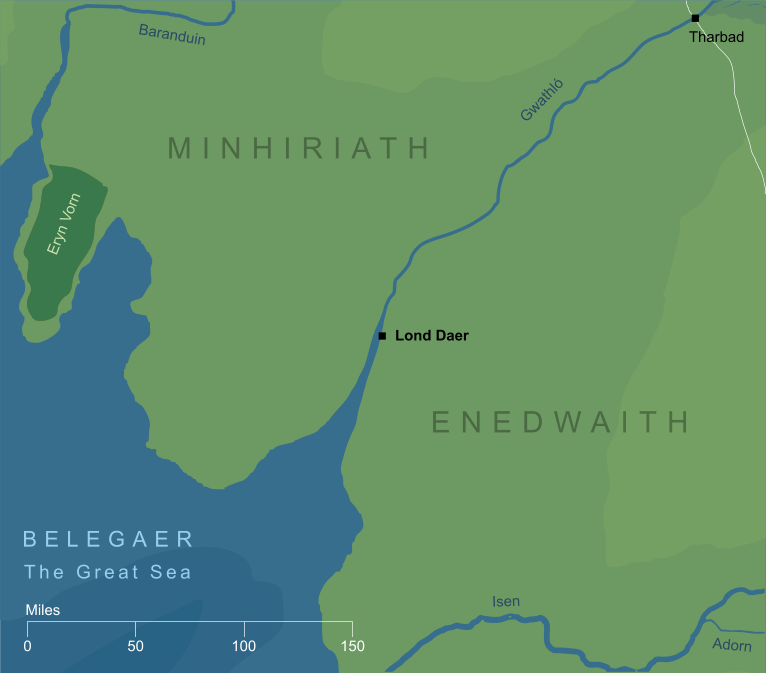 Map of Lond Daer