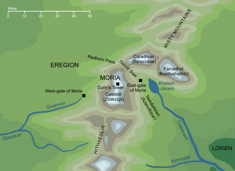 Map of Moria