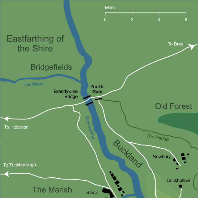 Map of the North Gate