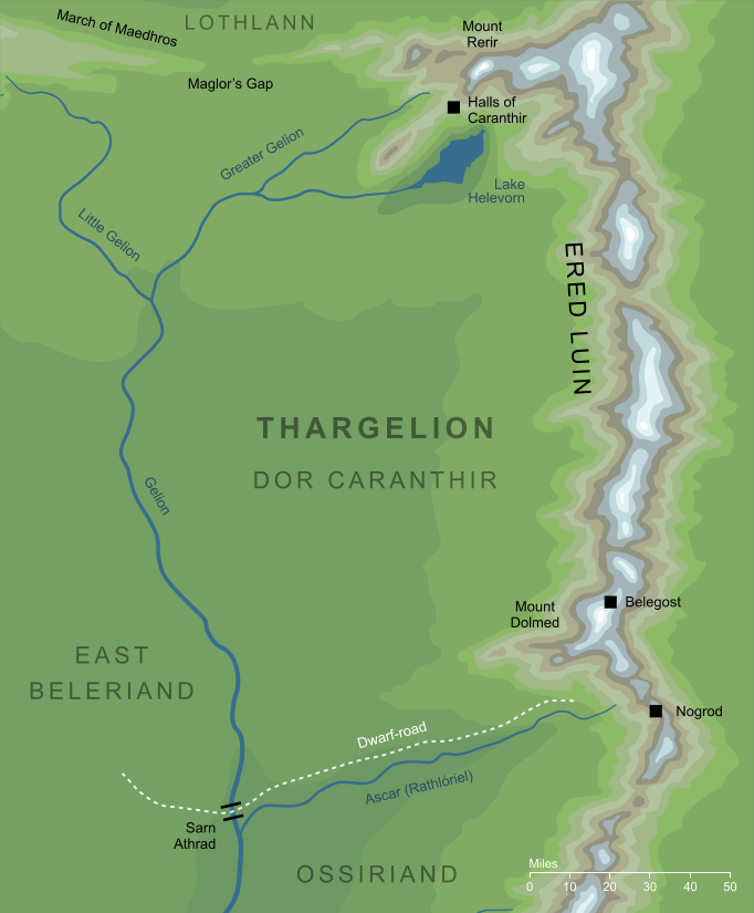Map of Thargelion