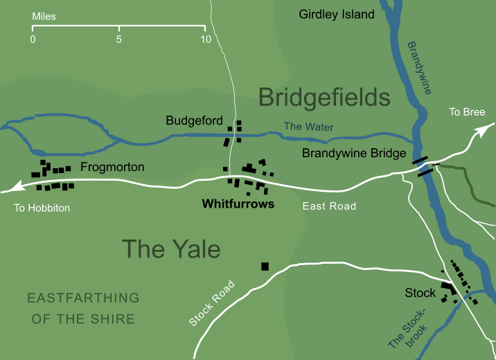 Map of Whitfurrows